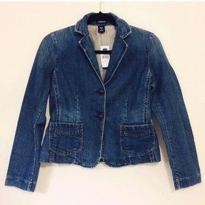 NWT Vintage Gap Denim Jacket/Blazer